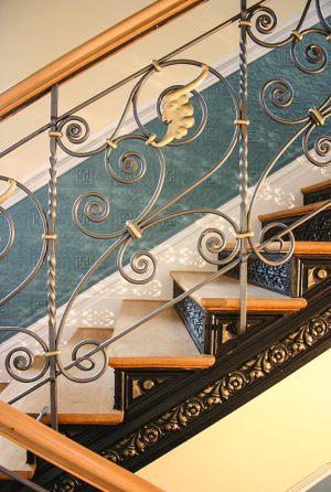 Ein von Abraham restauriertes Treppenhaus